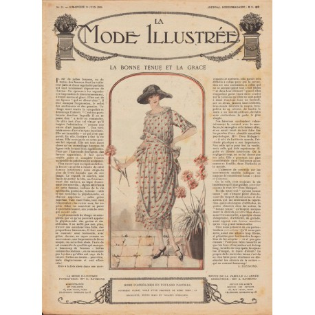 Complete magazine La Mode Illustrée 1920 N°25