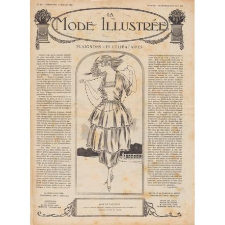 Complete magazine La Mode Illustrée 1920 N°28