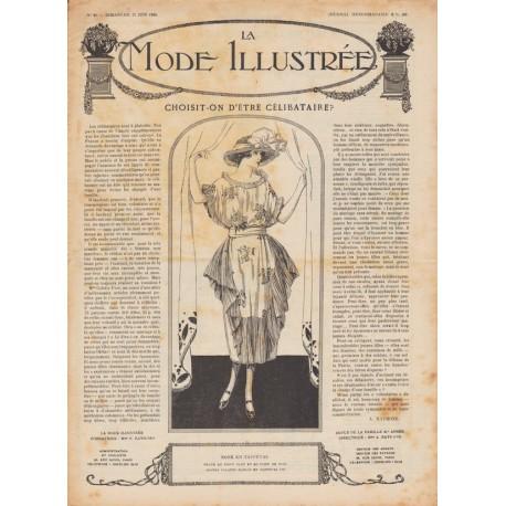 Complete magazine La Mode Illustrée 1920 N°26