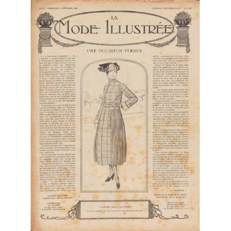 Complete magazine La Mode Illustrée 1920 N°36