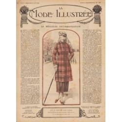 Complete magazine La Mode Illustrée 1920 N°35