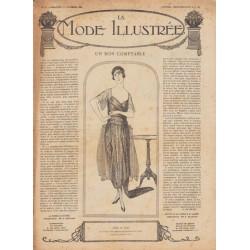 Complete magazine La Mode Illustrée 1920 N°50