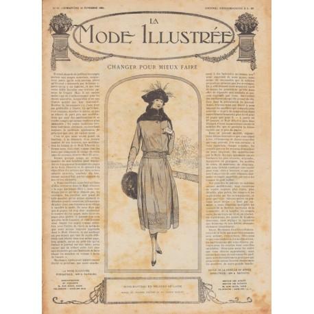 Complete magazine La Mode Illustrée 1920 N°48