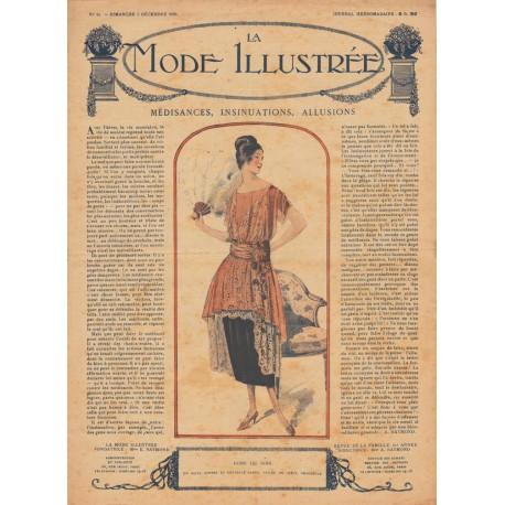 Complete magazine La Mode Illustrée 1920 N°49