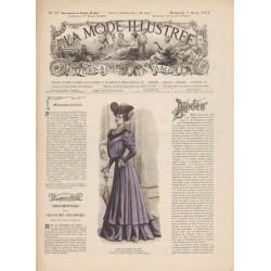 Complete magazine La Mode Illustrée 1905 N°10