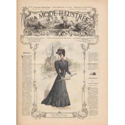 Complete magazine La Mode Illustrée 1905 N°27