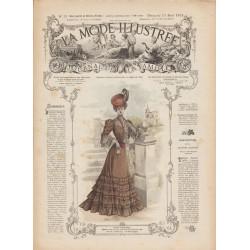 Revue complète de La Mode Illustrée 1905 N°33