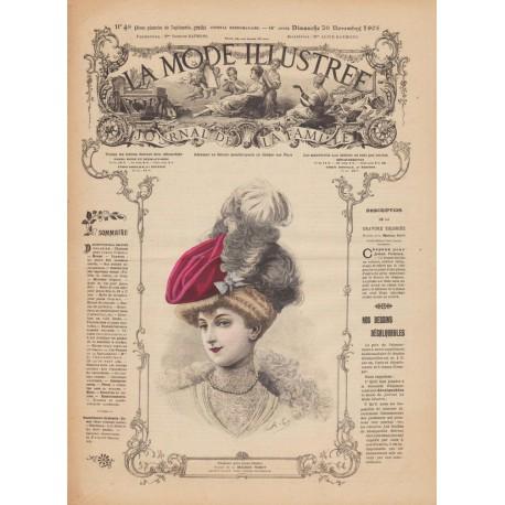 magazine La Mode Illustrée 1905 N°48