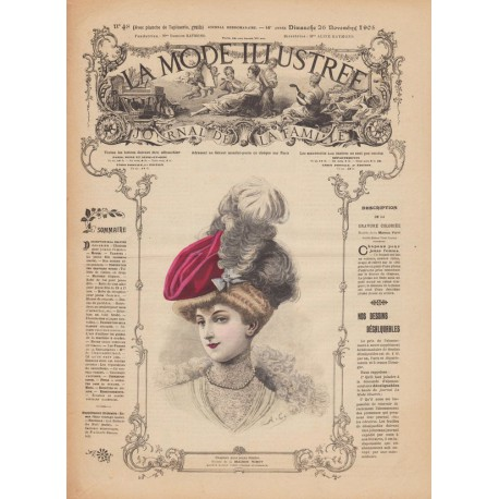 Revue La Mode Illustrée 1905 N°48