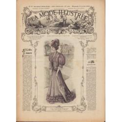 Complete magazine La Mode Illustrée 1905 N°29