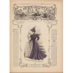Revue complète de La Mode Illustrée 1905 N°36