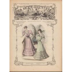 Complete magazine La Mode Illustrée 1905 N°37