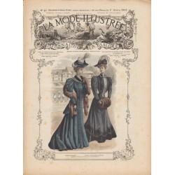 Complete magazine La Mode Illustrée 1905 N°40
