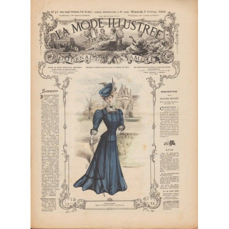 Complete magazine La Mode Illustrée 1905 N°41