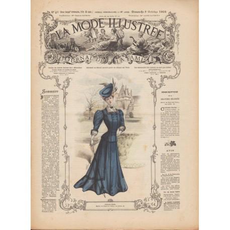 Revue complète de La Mode Illustrée 1905 N°41
