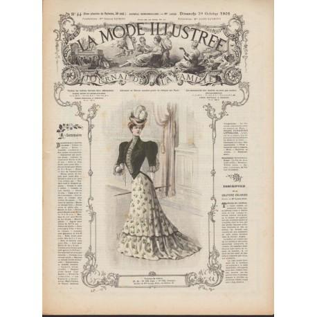 Complete magazine La Mode Illustrée 1905 N°44