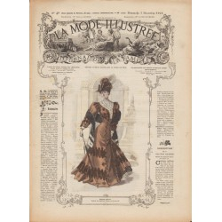 Complete magazine La Mode Illustrée 1905 N°49