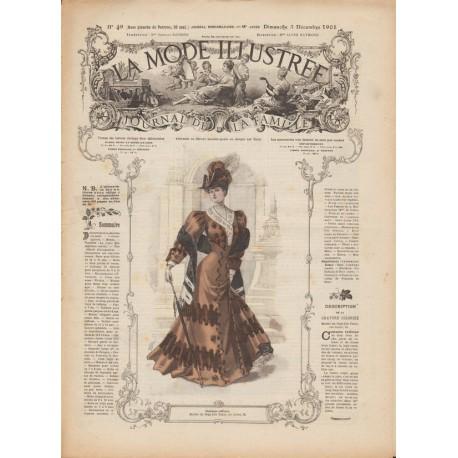 Revue complète de La Mode Illustrée 1905 N°49