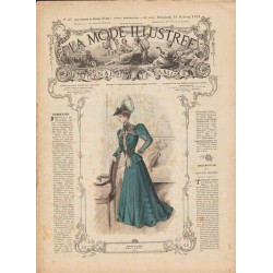 Revue complète de La Mode Illustrée 1905 N°42