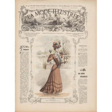 Complete magazine La Mode Illustrée 1905 N°43