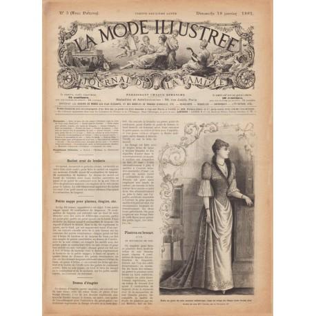 Revue complète de La Mode Illustrée 1891 N°03