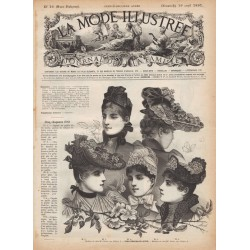 Revue complète de La Mode Illustrée 1891 N°16