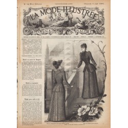 Complete magazine La Mode Illustrée 1891 N°14