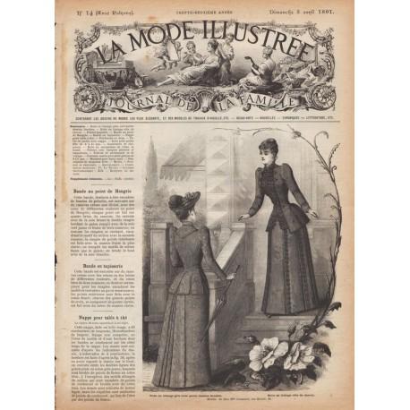 Revue complète de La Mode Illustrée 1891 N°14