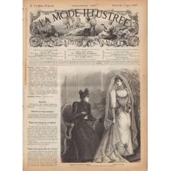 Complete magazine La Mode Illustrée 1891 N°18