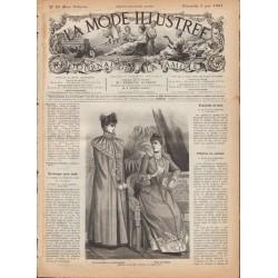 Complete magazine La Mode Illustrée 1891 N°23