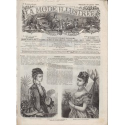 Revue complète de La Mode Illustrée 1874 N°03