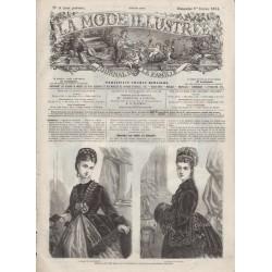 Revue complète de La Mode Illustrée 1874 N°05