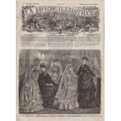 Revue complète de La Mode Illustrée 1874 N°12