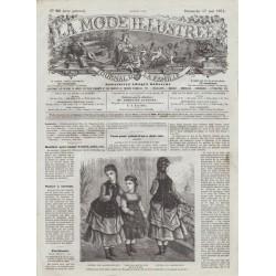 Revue complète de La Mode Illustrée 1874 N°20