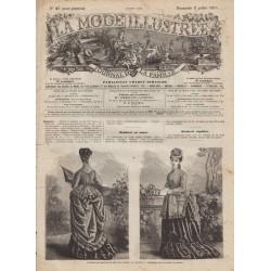 Revue complète de La Mode Illustrée 1874 N°27