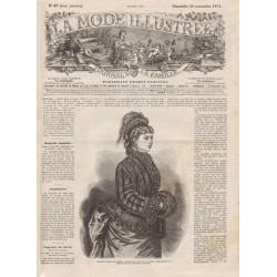 Revue complète de La Mode Illustrée 1874 N°47