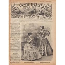 Complete magazine La Mode Illustrée 1896 N°1