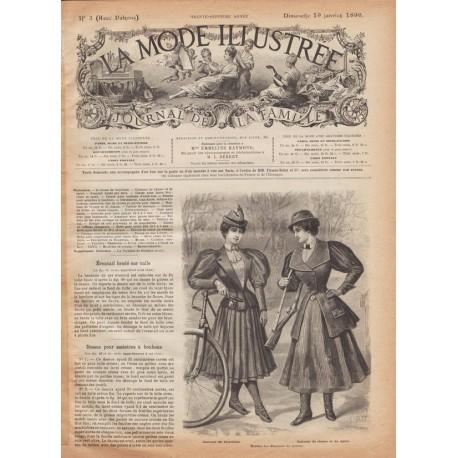 Complete magazine La Mode Illustrée 1896 N°3