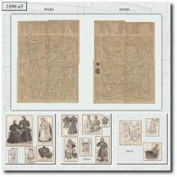 Sewing patterns La Mode Illustrée 1896 N°5