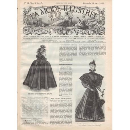 Complete magazine La Mode Illustrée 1896 N°12