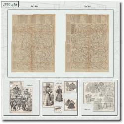 Sewing patterns La Mode Illustrée 1896 N°18