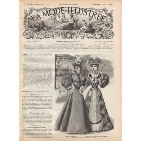 Complete magazine La Mode Illustrée 1896 N°18