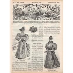 Complete magazine La Mode Illustrée 1896 N°23