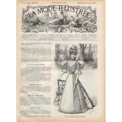 Revue complète de La Mode Illustrée 1896 N°25
