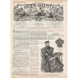Complete magazine La Mode Illustrée 1896 N°27