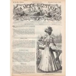 Complete magazine La Mode Illustrée 1896 N°29