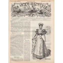 Complete magazine La Mode Illustrée 1896 N°31