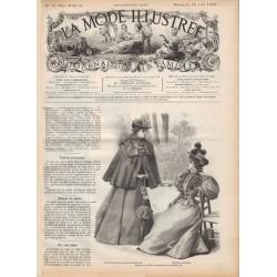 Revue complète de La Mode Illustrée 1896 N°33
