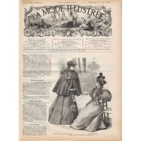 Complete magazine La Mode Illustrée 1896 N°33