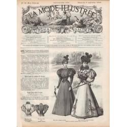 Complete magazine La Mode Illustrée 1896 N°36